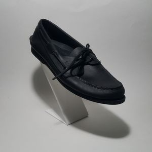 Sperry Top-Sider Black Leather US 11.5